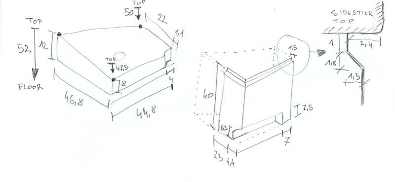 Making side consoles  – SIMon A320