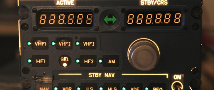 Interfacing Radio management panel (RMP).