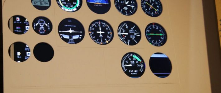 How about a Cessna instrument panel?