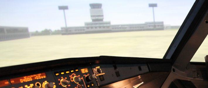 Experiencing Level-D simulator.