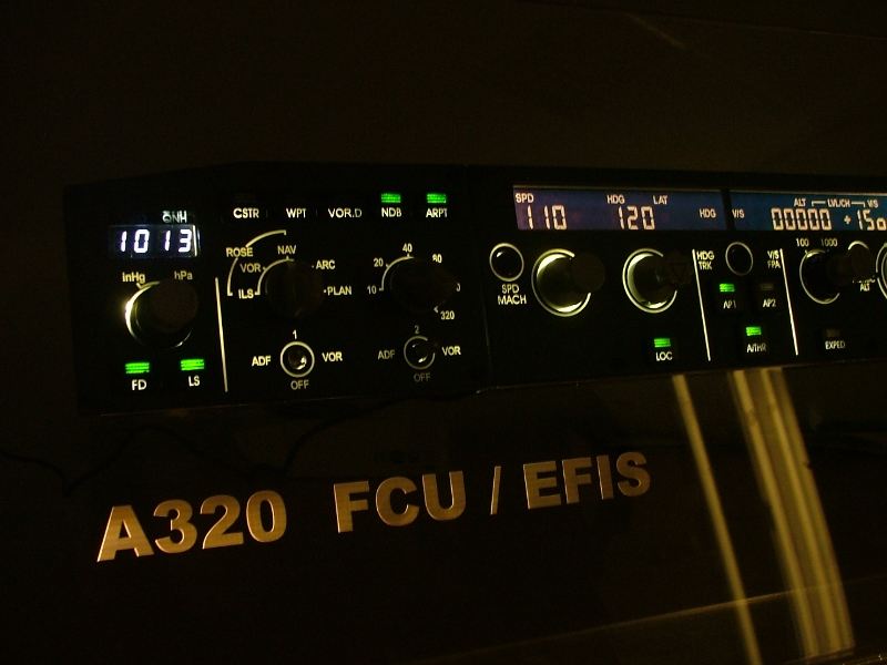 New Airbus FCU/EFIS from CPflight  – SIMon A320