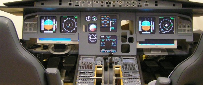 I want one, the A320 cockpit!