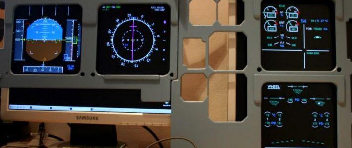 A320 aircraft logic and displays software AirSimTech.