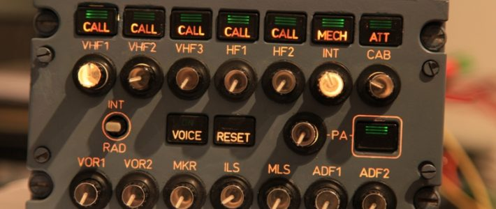 Interfacing Audio control panel (ACP).