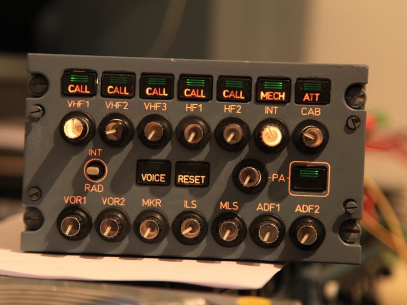 Interfacing Audio control panel (ACP)  – SIMon A320