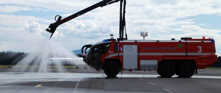 Brnik airport visit May 2014.