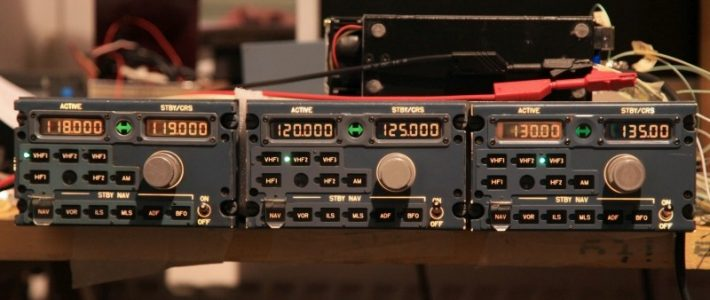 Radio frequency dialog bus among three RMP's.
